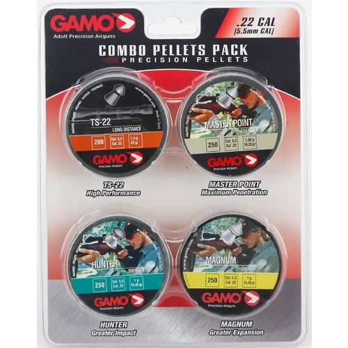 Gamo .22 Performance Airgun Pellets 4-Pack