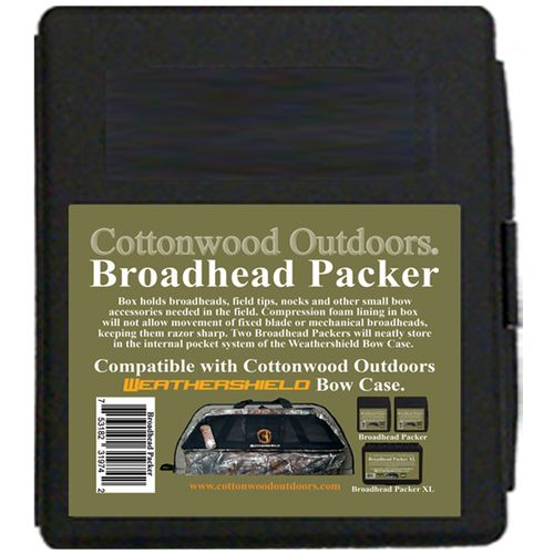 Cottonwood Outdoors Broadhead Packer Archery Accessory Case