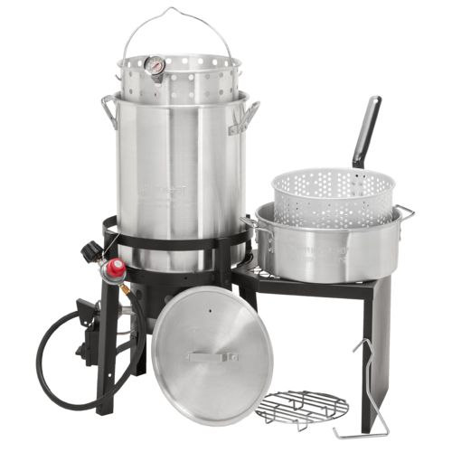 Display product reviews for Outdoor Gourmet Deluxe Turkey Fryer Kit
