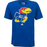 adidas™ Men's University of Kansas School Logo T-shirt