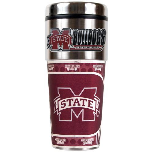 Great American Products Mississippi State University 16 oz. Travel Tumbler