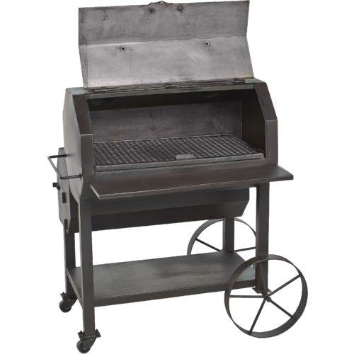 old country bbq pits over and under smoker academy. Black Bedroom Furniture Sets. Home Design Ideas