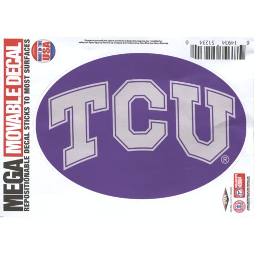 "Stockdale Texas Christian University 5"" x 7"" Repositionable Decal"