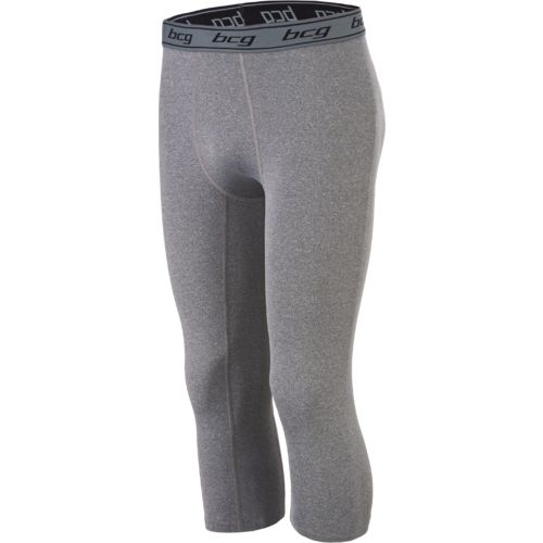 BCG Men's Compression Solid 3/4 Tight