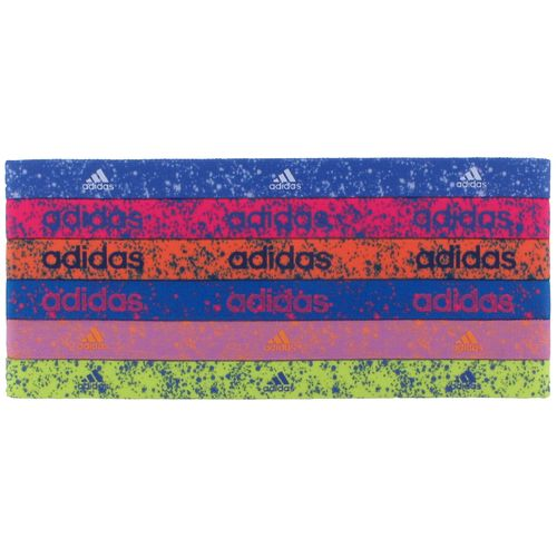 adidas Women's Sidespin Graphic Hairbands 6-Pack