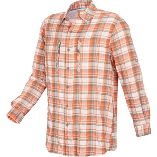 Image for magellan outdoors men 39 s falcon lake plaid for Magellan fishing shirts