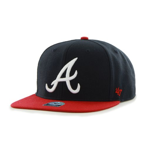 Display product reviews for '47 Men's Atlanta Braves Sure Shot 2-Tone Captain Cap