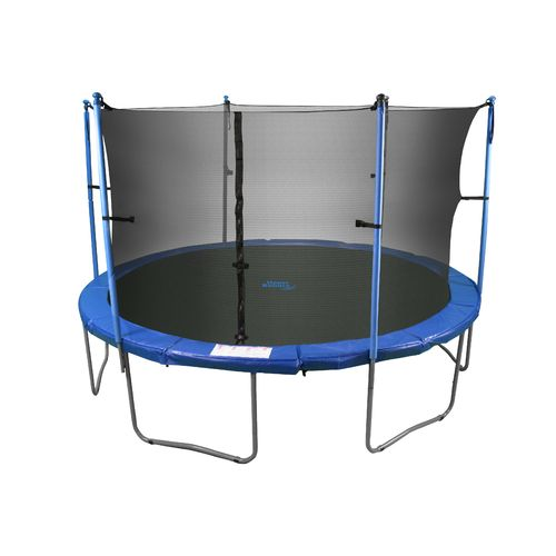 Upper Bounce® 15' Round Trampoline with Enclosure