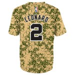 NBA Toddlers' San Antonio Spurs Kawhi Leonard #2 Camo Performance T-shirt