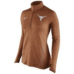 Nike Women's University of Texas Stadium Element 1/2 Zip Top