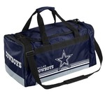 Forever Collectibles™ Dallas Cowboys Medium Striped Core Duffel Bag