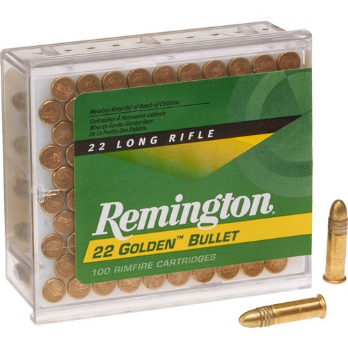 Display product reviews for Remington Golden Bullet .22 LR 40-Grain Rimfire Ammunition