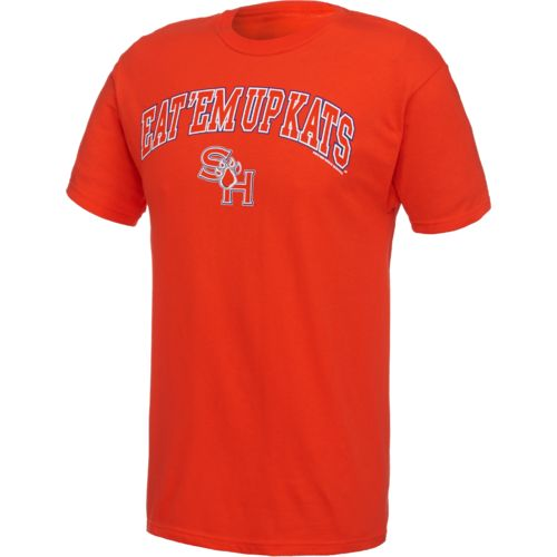 New World Graphics Men's Sam Houston State University Arch Mascot T-shirt