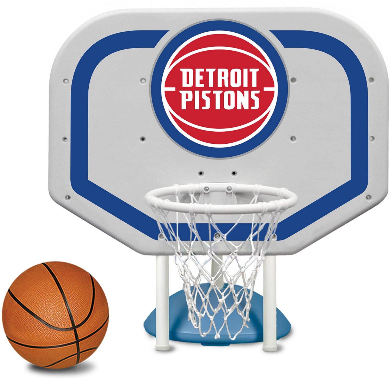 Poolmaster® Detroit Pistons Pro Rebounder Style Poolside Basketball Game