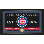 The Highland Mint Chicago Cubs Man Cave Bronze Coin Photo Mint
