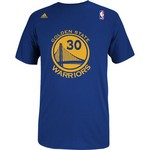 adidas Men's Golden State Warriors Stephen Curry No. 30 High Density T-shirt - view number 2