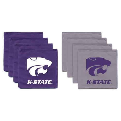 BAGGO® Kansas State University 9.5 oz. Replacement Beanbag Toss Beanbags 8-Pack