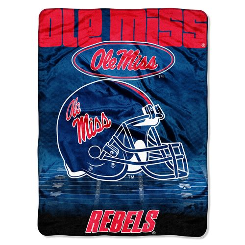 The Northwest Company University of Mississippi Overtime Micro Raschel Throw