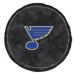 The Northwest Company St. Louis Blues Hockey Puck Shaped Plush Pillow