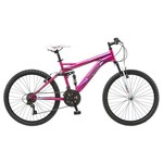 "Mongoose® Girls' Tassel 24"" 21-Speed Mountain Bicycle"