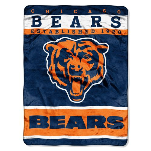 The Northwest Company Chicago Bears 12th Man Raschel Throw