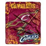 The Northwest Company Cleveland Cavaliers Dropdown Raschel Throw - view number 1