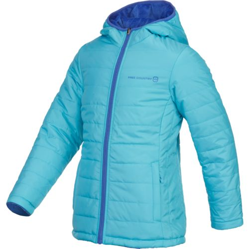 Display product reviews for Free Country Girls' Reversible Ciré Puffer Jacket