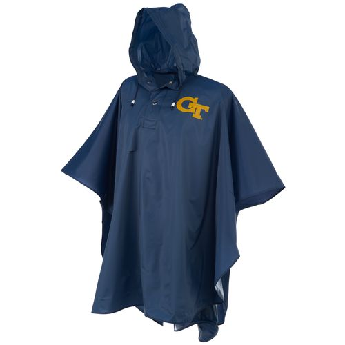 Storm Duds Men's Georgia Tech Heavy-Duty Rain Poncho - view number 1