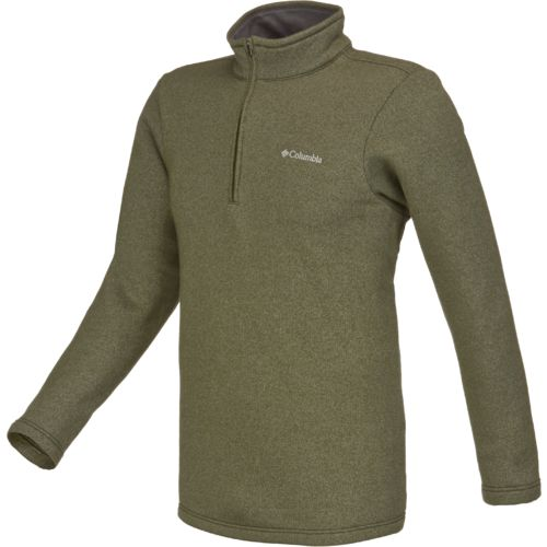 Columbia Sportswear Men's Great Hart Mountain III 1/2 Zip Long Sleeve Pullover