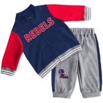 Colosseum Athletics Infant Boys' University of Mississippi Team Captain Fleece Set