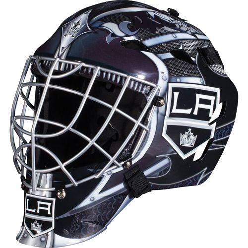 Franklin Boys' Los Angeles Kings GFM 1500 Goalie Face Mask - view number 1