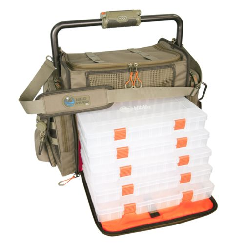 Wild River® Tackle Tek™ Frontier Lighted Bar Handle Tackle Bag