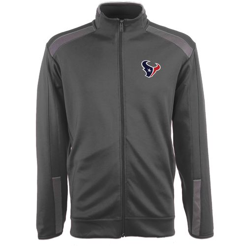 Antigua Men's Houston Texans Flight Jacket