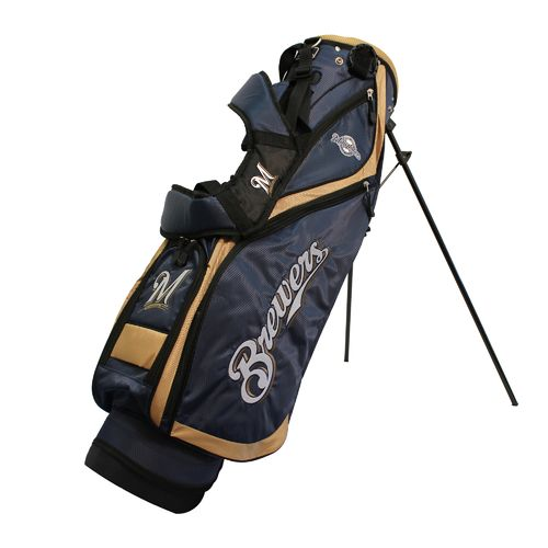 Team Golf Milwaukee Brewers Nassau Stand Golf Bag