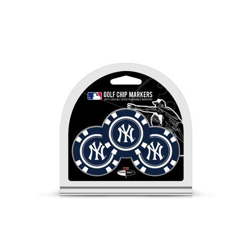 Team Golf New York Yankees Poker Chip and Golf Ball Marker Set
