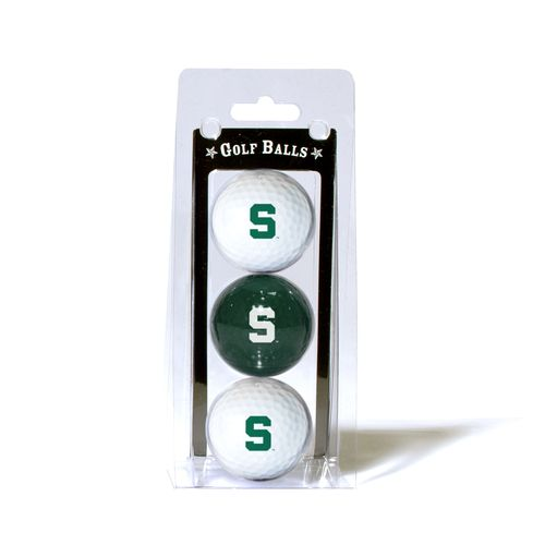 Team Golf Michigan State University Golf Balls 3-Pack