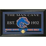 The Highland Mint Boise State University Man Cave Bronze Coin Panoramic Photo Mint