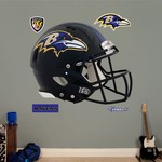 Fathead Baltimore Ravens Real Big Helmet Decal - view number 1