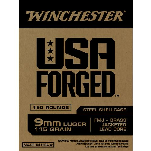 Winchester USA Forged 9mm Luger 115-Grain Handgun Ammunition - view number 4