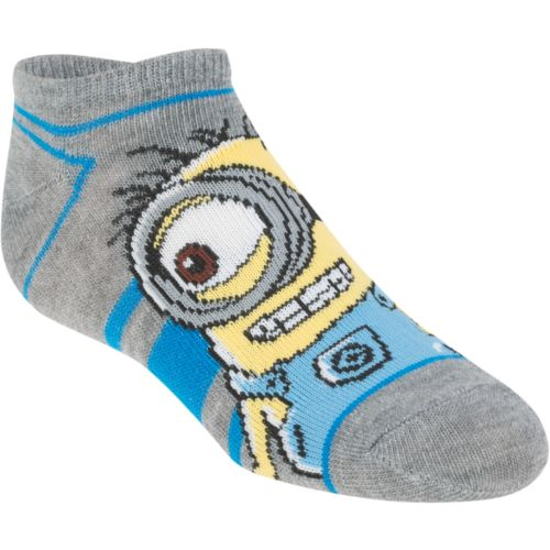 Despicable Me Toddlers' No-Show Socks 5-Pack
