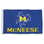 BSI McNeese State University 3' x 5' Flag with 2 Grommets