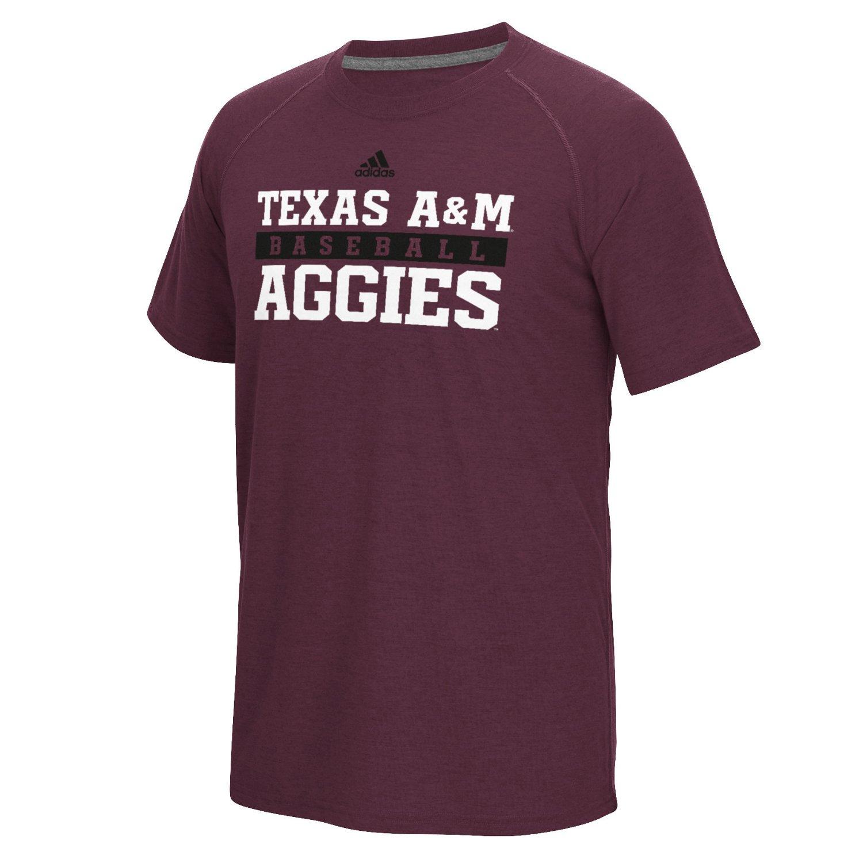 adidas Men's Texas A&M University Short Sleeve Ultimate