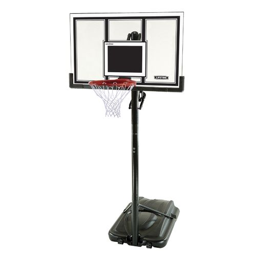 "Lifetime 54"" Polycarbonate Basketball Hoop"