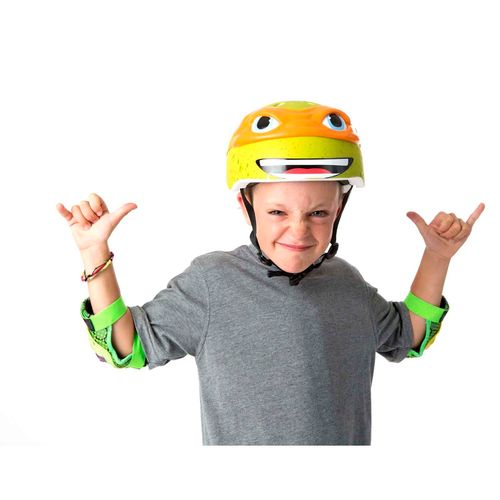 Bell Kids' Teenage Mutant Ninja Turtles Michelangelo Helmet - view number 2