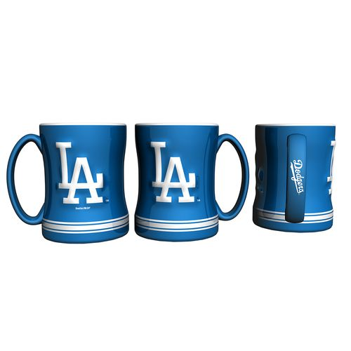 Boelter Brands Los Angeles Dodgers 14 oz. Relief Coffee Mugs 2-Pack