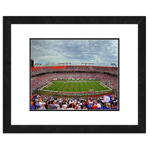 "Photo File University of Miami Stadium 16"" x 20"" Matted and Framed Photo"