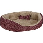 Magellan Outdoors™ Large 2-Piece Dog Bed and Plush Bone Toy Set
