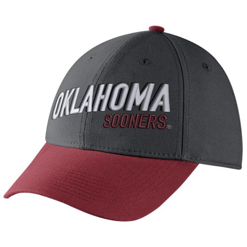 Nike™ Men's University of Oklahoma Legacy91 Swoosh Flex Cap