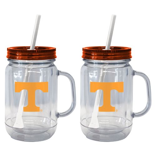 Boelter Brands University of Tennessee 20 oz. Handled Straw Tumblers 2-Pack