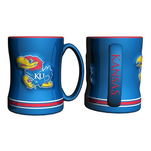 Boelter Brands University of Kansas 14 oz. Relief Mugs 2-Pack - view number 1